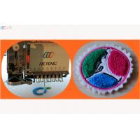 Commercial Mixed Flat Computerized Embroidery Machine with easy Chenille device Manufactures