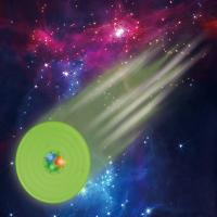 Pet toys Sound And Light Ball Starry sky sound and light Frisbee Pet training Manufactures