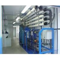 Waste Water Purifier Plant Machine , SS RO Plant With Portable Diesel Generator