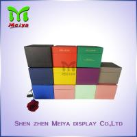 Colorful Gift Packaging Boxes , Black Yellow Green Kraft paper packaging box