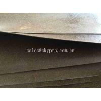 China Gasket Materials Cork Rubber Sheet Roll ROHS Durable Rubber Sealing Gaskets on sale