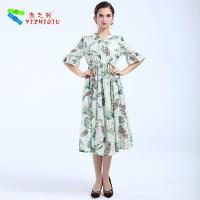 Largos Casual Long Cotton Summer Dresses None Decoration For Beach Manufactures