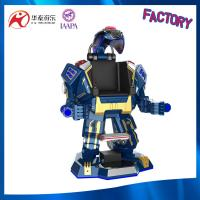 transformer robot with laser fighting mode and shining light for amusement park equipment Manufactures