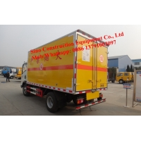 Sinotruk 4x2 5t  Mixed Emulsion Explosive Truck For Civil Underground Site Manufactures