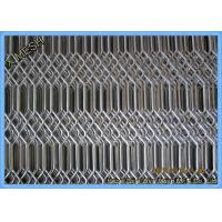 Buy cheap Hot Dipped Galvanised Expanded Metal Mesh , Expanded Stainless Steel Mesh Grill from wholesalers