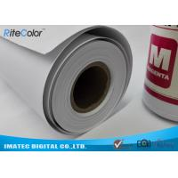 Wide Format Paper Rolls Inkjet Premium Matte Coated Paper Water Resistance Manufactures