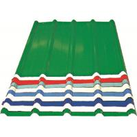 Red/ Blue/ White Corrugated Metal Sheets , Recyclable Steel Sheets - Roof/Wall Manufactures