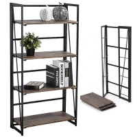 China products 5 Tier mutifunction book display bookcase bed room Manufactures