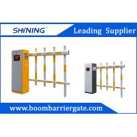 30m Remote Control Fence Arm Boom Barrier Gate For Toll Booth Management System