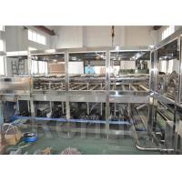 Big Package 5 Gallon Drinking Water Filling Machine Stainless Steel Customized Manufactures