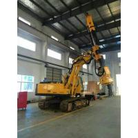 Bored Pile Driver Hire , Driven Piles Construction Hydraulic Rig Machine 6.1T Total Weight