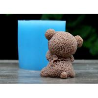 China Bear Shaped Food Safe Silicone Dcoration Molds For Wedding Cake ,Rubber Silicone Mold on sale