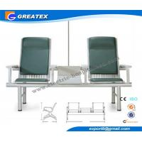 Emergency Galvanized steel Medical Transfusion Chair , Electric Blood Donation Chair Manufactures