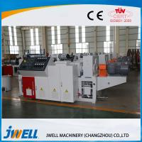 Light Weight Wpc Making Machine , Wpc Extruder Machine With Frequency Converter Manufactures