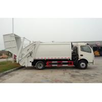 RHD 4X2 Garbage Collection Truck , Commercial Trash Compactor Truck 6CBM Manufactures