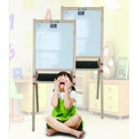 Creative Folding Magnetic Whiteboard With Wooden Frame Fashionable Style Manufactures