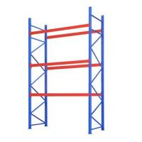 6000mm Height Long Span Heavy Duty Storage Racks With Powder Coat Paint Finish