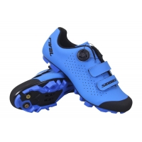 Blue BOA Dial Adjustment Carbon Fiber Cycling Shoes Manufactures