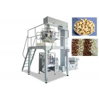 Plastic / Aluminium Snack Packaging Machine, VFFS Packing Machine For Food Products Manufactures