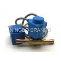 Normally Closed EVR Refrigeration Solenoid Valve Air Conditioning , Solenoid Operated Valve Manufactures