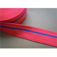 Dying Heavy Duty Elastic Webbing For Furniture , Hammock Webbing Straps for garment Manufactures