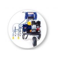 Spray Line Marking Machine For 2-Guns Professional Stripers , Road Painting Equipment Manufactures