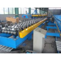 Quality 5.5kw Roof Sheet Tile Roll Forming Machine in Wall / Roof Construction Hydraulic Cutting wholesale