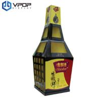 China Custom Cardboard Market Stand Saving Space For Home Security Products on sale