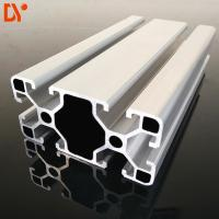 China Industrial Extruded Aluminum Rail 4080 Oxidation Accessory Aluminium Extruded Bar on sale