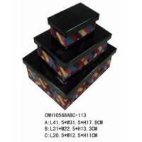 Set/3 Storage Box Manufactures