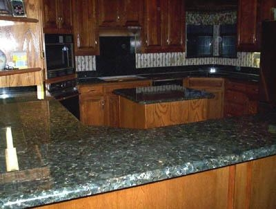 Quality Verde Butterfly Island Countertops for sale