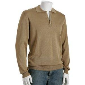 Quality Men Cashmere Sweater Cotton Cashmere Polo Sweater for sale