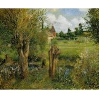 Impressionist(3830) The_Banks_of_the_Epte_at_Eragny Manufactures