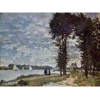 Impressionist(3830) The_Banks_of_the_Seine_at_Argenteuil Manufactures