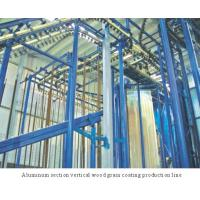 Cheap Spray-coating Equi... Aluminum section vertical wood grain coating production line for sale