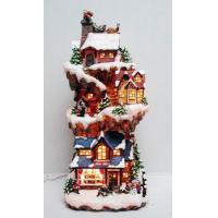 Gifts & Crafts Lighted Resin Christmas Village  Lighted Resin Christmas Village Manufactures