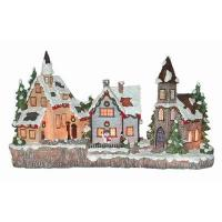 Gifts & Crafts Lighted Resin Christmas Village 2 Lighted Resin Christmas Village 2 Manufactures