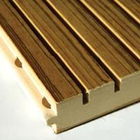 Buy cheap Grooved Melamine MDF sheet from wholesalers