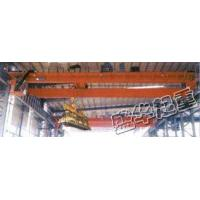 7.5 +7.5 tons, 10 +10 tons, 16 tons +16 tons 17.5 +17.5 rotating electromagnetic beams hang overhead Manufactures