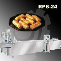 China Automatic Vietnames Spring Roll Rice Paper Steaming & Stuffing Extruding Mahicne on sale