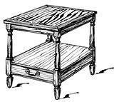 American End Table Plans[FD-307] Manufactures