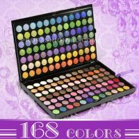 168 colors eyeshadow Manufactures