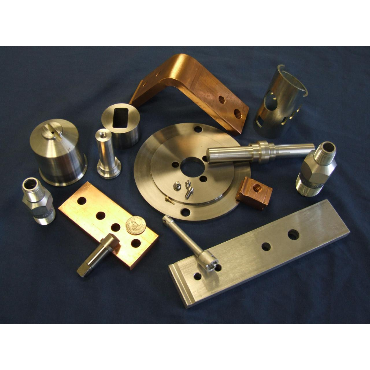 Brass and special material Machined Parts Manufactures
