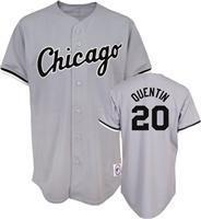20 Carlos Quentin Grey Majestic Athletic Jerseys Manufactures