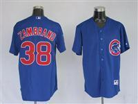 38 Carlos Zambrano blue Jerseys Manufactures