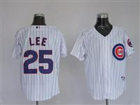 25 Derrek Lee White Majestic Athletic Jerseys Manufactures