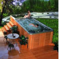 Swimming spa khufu-8824spa Manufactures