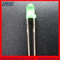 3mm round led(3.0*5.3) green color Manufactures