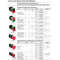 MCB And RCD Series Control and Signal Units 22mm(fixing) Manufactures