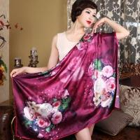 110*110 Square 100%Silk Scarf Manufactures